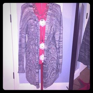 Shawl Collar Open Cardigan, New With Tags Size XXL